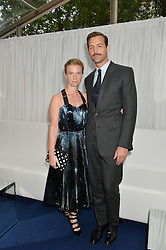 PATRICK GRANT and KATIE HILLIER at the Glamour Women of The Year Awards in Association with Next held in Berkeley Square Gardens, Berkeley Square, London on 3rd June 2014.