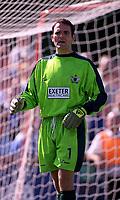 Arjan van Heusden (Exeter City) Exeter City v Everton, Pre-Season Friendly, 5/08/2000. Credit: Colorsport / Matthew Impey