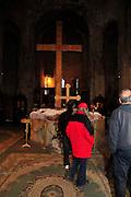 Georgia, Mtskheta, Saint Nino church of the cross in Samtavro monastery,