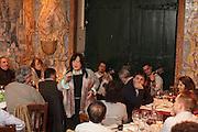 """Fado singer Alice  at """"Mesa de Frades"""" restaurant. Fado was classified by UNESCO as Untangible World Heritage in November 2011."""