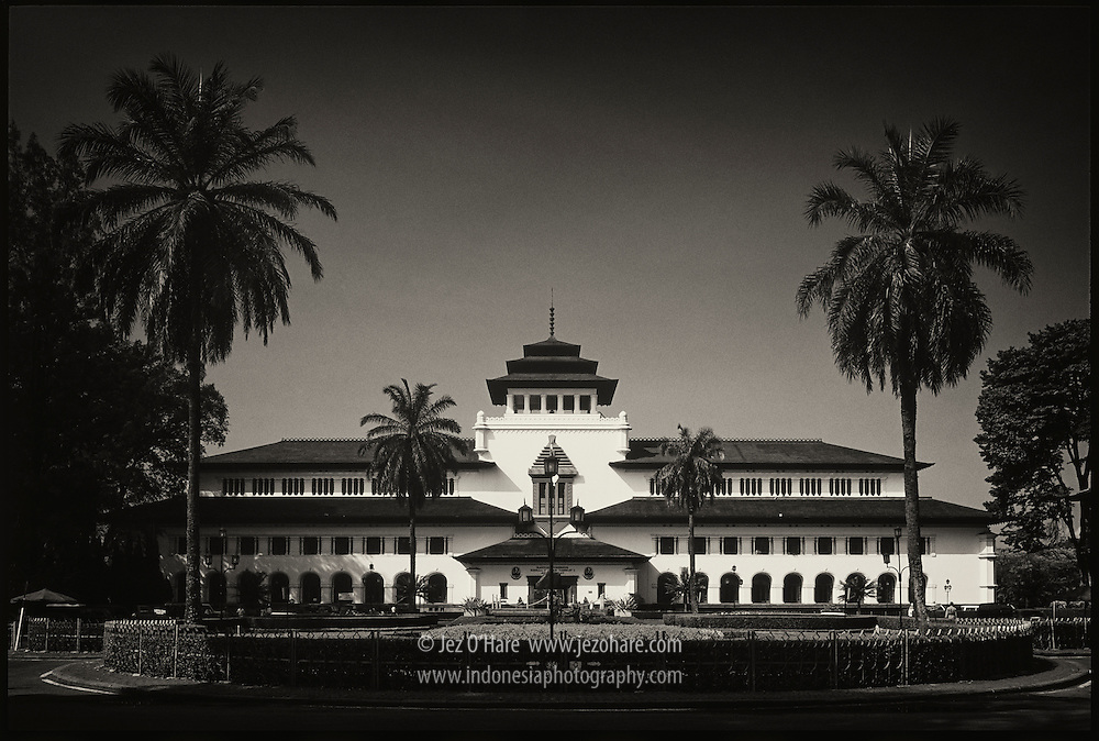 Gedung Sate, Bandung, Jawa Barat, Indonesia