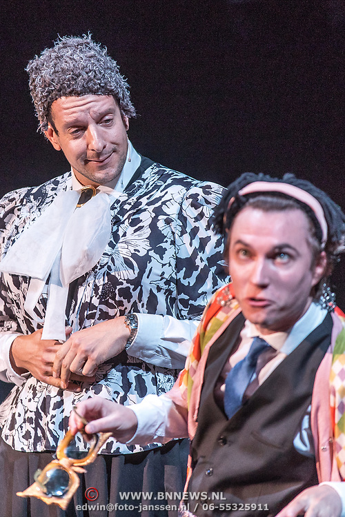 NLD/Amsterdam/20170917 - Gala van het Nederlands Theater 2017, Alex Klaassen en Steef de Jong van Groots en meeslepend!