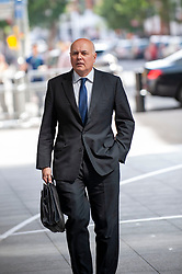 Iain Duncan Smith MP for Chingford and Woodford Green arrives at the BBC before appearing on the Andrew Marr show as a guest.<br /> <br /> Richard Hancox   EEm 21072019