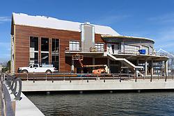 Boathouse at Canal Dock Phase II | State Project #92-570/92-674 Construction Progress Photo Documentation No. 15 on 22 September 2017. Image No. 04