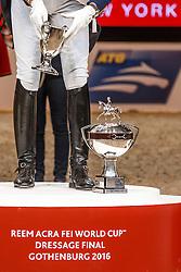 Podium Reem Acra FEI WOrld Cup Dressage<br /> Grand Prix Freestyle<br /> Reem Acra FEI World Cup Dressage - Goteborg 2016<br /> © Hippo Foto - Dirk Caremans<br /> 27/03/16