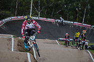#81 (STROMBERGS Maris) LAT at the 2016 UCI BMX Supercross World Cup in Santiago del Estero, Argentina