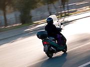 Moped, Rome, Italy.