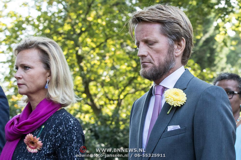 NLD/Den Haag/20190822 - Uitvaart Prinses Christina, Prinses Carolina en Prins Pieter Christiaan