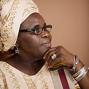 Ghanaian Author, Ama Ata Aidoo. Accra, Ghana