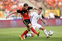 Vertonghen Jan defender of Belgium is challenged by Henriksen Markus midfielder of Norway during the international friendly match between Belgium and Norway<br /> Belgia - Norge<br /> 5. juni 2016<br /> Norway only