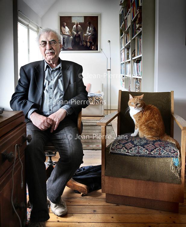 Nederland, Amsterdam , 21 april 2010..Frits van Dam, hoogleraar Psychologie..Foto:Jean-Pierre Jans