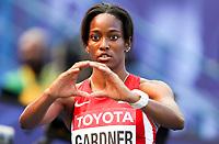 Friidrett<br /> VM 2013 Moskva Russland<br /> 11.08.2013<br /> Foto: Gepa/Digitalsport<br /> NORWAY ONLY<br /> <br /> 100 meter kvinner<br /> Bild zeigt English Gardner (USA).