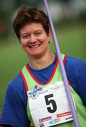 Martinka Ratej at Athletic National Championship of Slovenia, on July 20, 2008, in Stadium Poljane, Maribor, Slovenia. (Photo by Vid Ponikvar / Sportal Images).