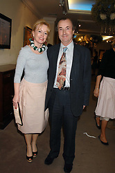 Actress ANGHARAD REES and MR DAVID McALPINE at the Sotheby's Summer Party 2007 at their showrooms in New Bond Street, London on 4th June 2007.<br /><br />NON EXCLUSIVE - WORLD RIGHTS