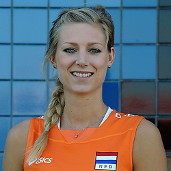 02-06-2010 VOLLEYBAL: NEDERLANDS VROUWEN VOLLEYBAL TEAM: ALMERE<br /> Reportage Nederlands volleybalteam vrouwen / Manon Flier<br /> ©2010-WWW.FOTOHOOGENDOORN.NL