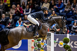 ALFERT Pia (GER), Call me Charly Brown<br /> Finale HGW-Bundesnachwuchschampionat der Springreiter <br /> gefördert durch die Horst-Gebers-Stiftung <br /> In Memoriam Debby Winkler<br /> Stilspringen Kl. M*<br /> Nat. style jumping competition Kl. M*<br /> Braunschweig - Classico 2020<br /> 08. März 2020<br /> © www.sportfotos-lafrentz.de/Stefan Lafrentz