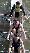 Chiswick, London, Great Britain.<br /> <br /> 2016 Schools Head of the River Race, Reverse Championship Course Mortlake to Putney. River Thames.<br /> <br /> Thursday  17/03/2016<br /> <br /> [Mandatory Credit: Peter SPURRIER;Intersport images]
