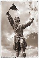 Osztyapenko Statue in the Memento Sculpture Park - Communist Sculptures museum - Budapest - Hungary