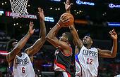 Basketball: 20161013 Los Angeles Clippers vs Portland Trail Blazers