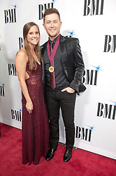 Nov. 13, 2018 - Nashville, Tennessee; USA - Musician SCOTTY MCCREERY and his wife attends the 66th Annual BMI Country Awards at BMI Building located in Nashville.   Copyright 2018 Jason Moore. (Credit Image: © Jason Moore/ZUMA Wire)