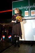 Hare Koninklijke Hoogheid Prinses Laurentien der Nederlanden opende vrijdag 2 december in het Beatrixgebouw van de Jaarbeurs in Utrecht de Onderwijs en Handicap Markt. De markt geeft informatie aan leerlingen, studenten, ouders, docenten en andere belangstellenden over leren en studeren met een handicap of chronische ziekte.<br /> <br /> Her royal highness princess Laurentien of the The Netherlands opened Friday 2 December in the Beatrixgebouw of the fair in Utrecht the education and handicap market. The market gives information to students, students, parents, docenten and other belangstellenden concerning learn and study with a handicap or chronic sickness.