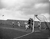 1959 -  Soccer: Evergreen vs. Shamrock Rovers At Dalymount Park.  Final of Top Four Competition.