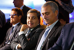 © Licensed to London News Pictures. 01/02/2016. London, UK. Ex-Chelsea manager Jose Mourinho attends FIFA Presidential Candidate, Gianni Infantino campaign launch at Wembley Stadium in London on Monday 1 February 2016. Photo credit: Tolga Akmen/LNP
