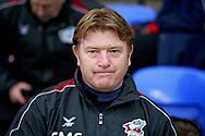 Scunthorpe manager Stuart McCall before the EFL Sky Bet League 1 match between Peterborough United and Scunthorpe United at London Road, Peterborough, England on 1 January 2019.
