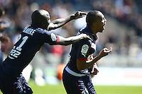 Joie Nicolas Maurice Belay - 05.04.2015 - Bordeaux / Lens - 31eme journee de Ligue 1<br />Photo : Manuel Blondeau / Icon Sport