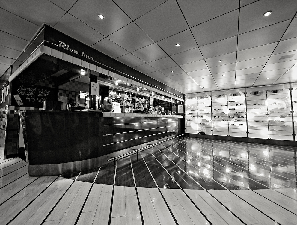 Norway - Cafe on ferry