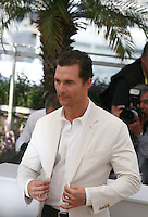 Actor Matthew McConaughey at the Mud photocall at the 65th Cannes Film Festival France. Saturday 26th May 2012 in Cannes Film Festival, France.