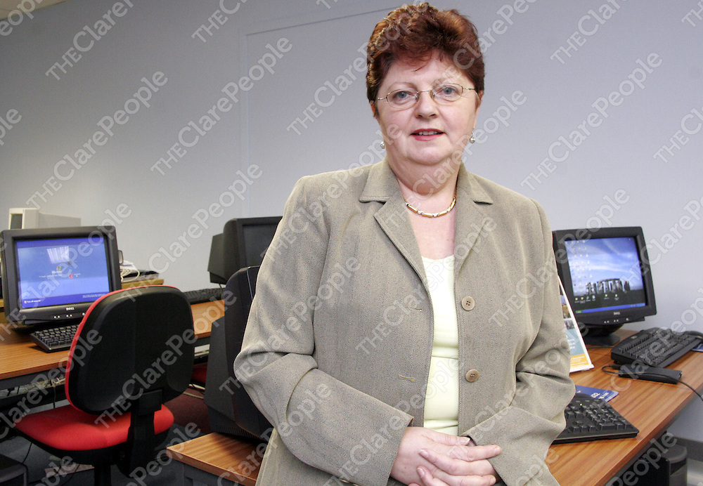 Ann Magoufis - Director of Ariston College, Smithstown Business Park, Shannon.<br /> <br /> Photograph by Yvonne Vaughan.