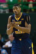 WACO, TX - MARCH 5: Jonathan Holton #1 of the West Virginia Mountaineers looks on against the Baylor Bears on March 5, 2016 at the Ferrell Center in Waco, Texas.  (Photo by Cooper Neill/Getty Images) *** Local Caption *** Jonathan Holton