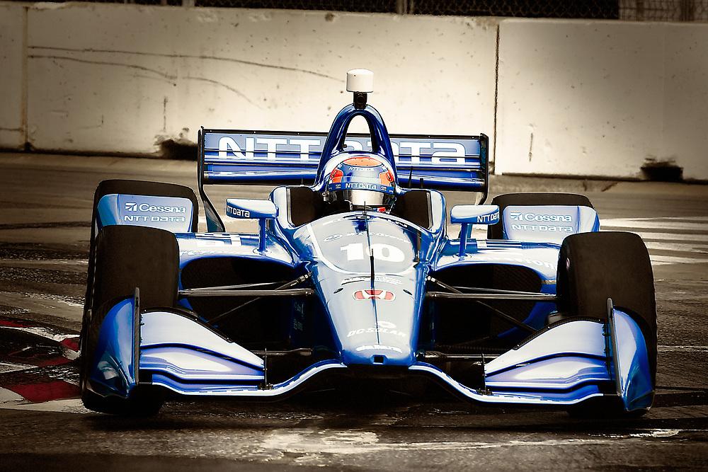 Ed Jones, Chip Ganassi Racing Honda<br /> Saturday 14 July 2018<br /> Honda Indy Toronto<br /> Verizon IndyCar Series<br /> Streets of Toronto ON CAN<br /> World Copyright: Scott R LePage