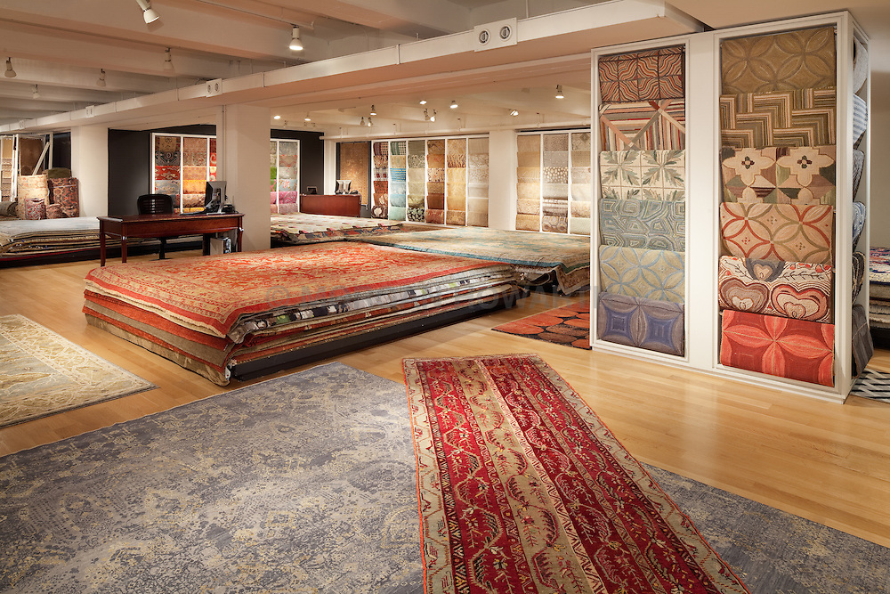 Galleria carpet showroom at Washington DC Design Center