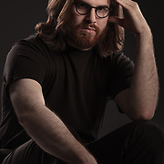 Wesley - talented musician and filmmaker.<br /> photo: Randal Crow