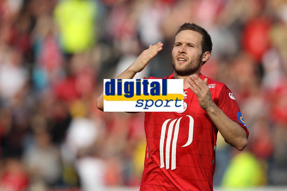 Fotball<br /> Frankrike<br /> Foto: Dppi/Digitalsport<br /> NORWAY ONLY<br /> <br /> FOOTBALL - FRENCH CHAMPIONSHIP 2009/2010 - L1 - LILLE OSC v AS MONACO - 18/04/2010<br /> <br /> JOY YOHAN CABAYE (LOSC)