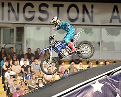 Nitro Circus Live, Livingston, Saturday 4th June 2016<br /> <br /> Tricks were performed on motorcycles<br /> <br /> (c) Alex Todd   Edinburgh Elite media