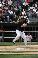 CHICAGO - MAY 01:  Adam Dunn #32 of the Chicago White Sox bats against the Baltimore Orioles on May 1, 2011 at U.S. Cellular Field in Chicago, Illinois.  The Orioles defeated the White Sox 6-4.  (Photo by Ron Vesely)  Subject:   Adam Dunn
