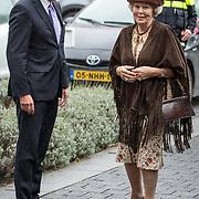 NLD/Amsterdam/20170922 - Prinses Beatrix opent nieuwe pand Simavi, Prinses Beatrix en Jack van der Hoek
