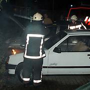 Autobrand Delta - Tjonger Huizen, pyromaan
