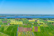 Nederland, Friesland, gemeente De Friese Meren, 07-05-2018; De Zuidwesthoek, Tjeukemeer.<br /> <br /> luchtfoto (toeslag op standard tarieven);<br /> aerial photo (additional fee required);<br /> copyright foto/photo Siebe Swart