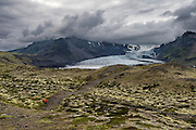 Glacier in South-east Iceland