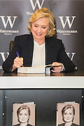 Hillary Rodham Clinton  signs copies of her book Hard Choices at Waterstones Piccadilly London