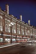 Regent Street, London, england, uk, night, dusk, lighting, retail, buildings, architecture