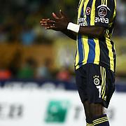 Fenerbahce's player Moussa Sow during their Turkish superleague soccer match S.B. Elazigspor between Fenerbahce at the Ataturk stadium in izmir Turkey on Saturday 18 August 2012. Photo by TURKPIX