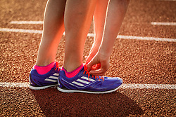 Adrian Martinez Classic track meet, adidas adizero spikes
