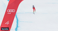 28.12.2017, Stelvio, Bormio, ITA, FIS Weltcup, Ski Alpin, Abfahrt, Herren, im Bild Pawel Babicki (POL) // Pawel Babicki of Poland in action during mens Downhill of the FIS Ski Alpine Worldcup at the Stelvio course, Bormio, Italy on 2017/12/28. EXPA Pictures © 2012, PhotoCredit: EXPA/ Johann Groder