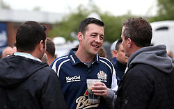 Bristol Rugby fans enjoy the Fanzone area at Ashton Gate - Mandatory byline: Robbie Stephenson/JMP - 25/05/2016 - RUGBY UNION - Ashton Gate Stadium - Bristol, England - Bristol Rugby v Doncaster Knights - Greene King IPA Championship Play Off FINAL 2nd Leg.