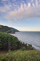 Cabot Trail, Cape Breton Highlands National Park, Cape Breton Island Nova Scotia